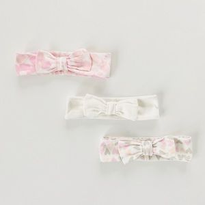 Hearts and Floral Baby Headbands